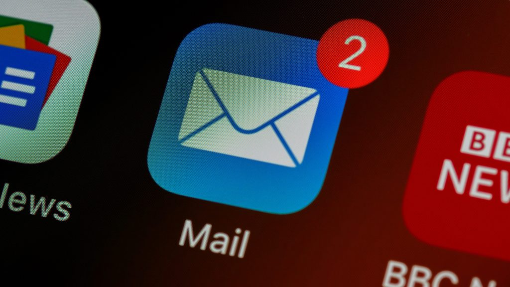 Mobile version of Mail Icon